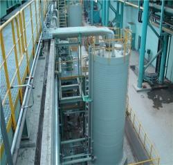 PPH、HDPE酸储罐系统及安装工程