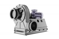 盐酸再生系统钛材高压废气风机