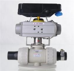 ASAHI AV 气动球阀(PVC、PPH,PVDF)